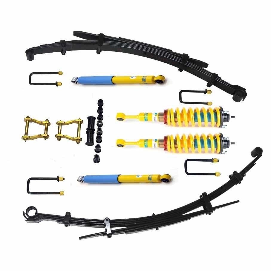 Bilstein Adjustable Coilover  50-75mm Suspension Lift kit Suit Toyota Hilux GGUN/N80/Revo