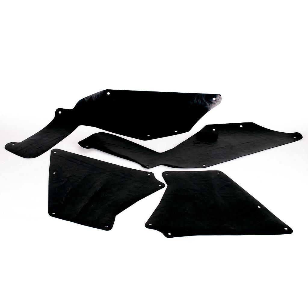 Mudskirt Kit to suit Toyota Hilux with 50mm body lift 05-19+