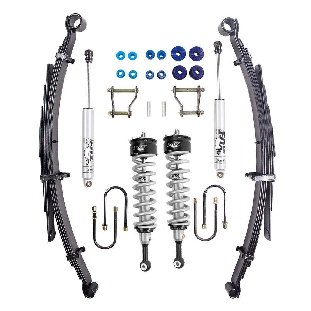 Fox Performance Adjustable Coilover  50-75mm Suspension Lift kit Suit Toyota Hilux  GGUN/N80/Revo