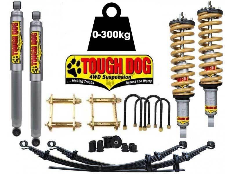 Tough Dog Suspension Toyota Hilux Vigo 0-300kg