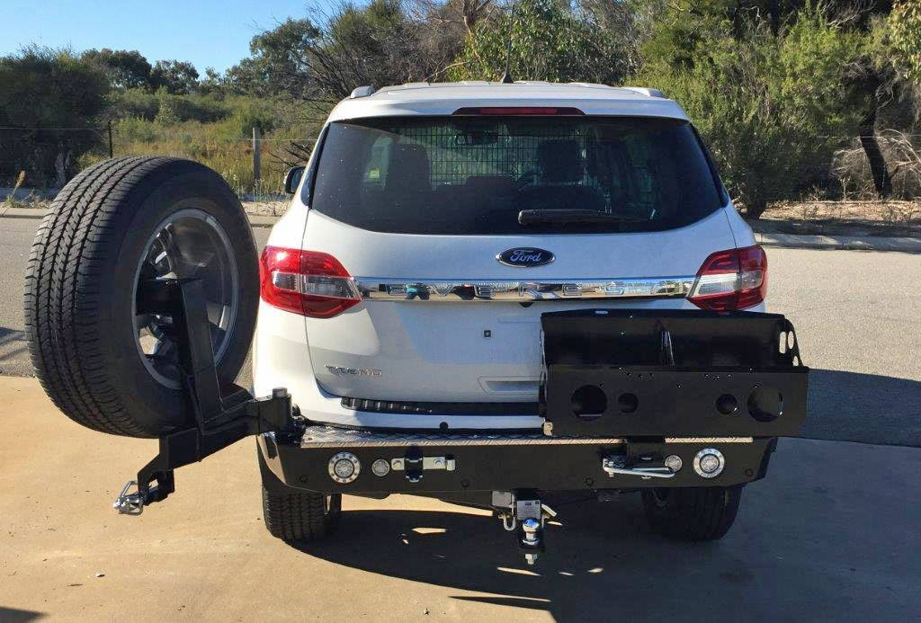 VMN's wheel carrier accessories offer the ultimate rear-end protection to your vehicle while improving your off-road driving