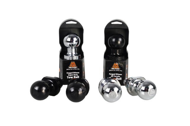VMN offers 50mm chrome towballs together with your towbars to complete your towing solution.