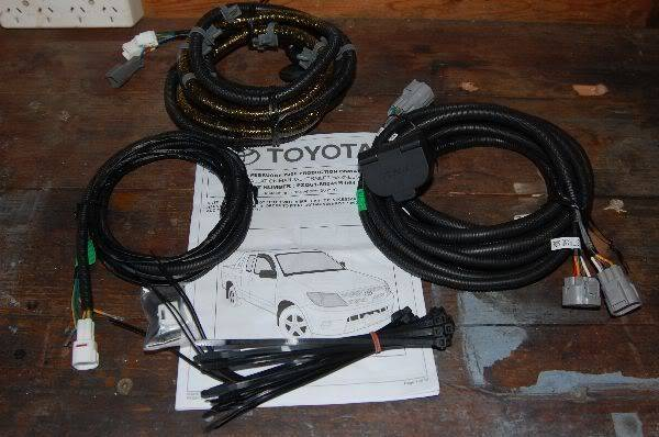 What towbar wiring kits do