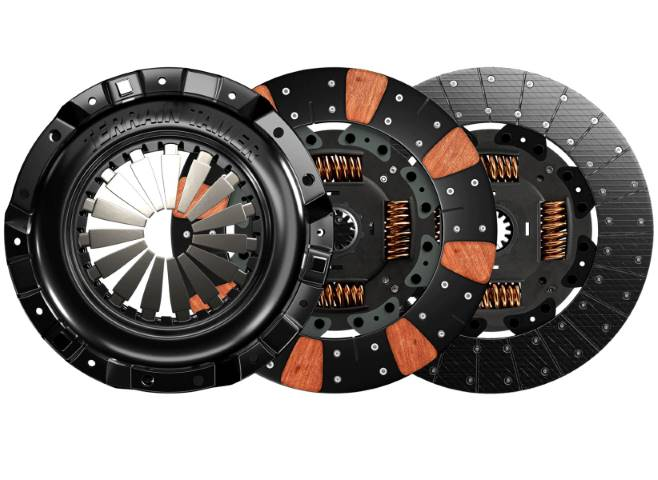 Mechanical beauty of your clutch