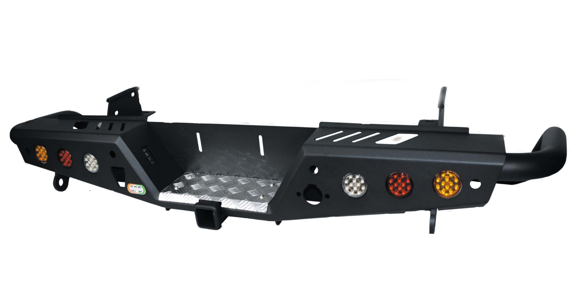 VMN offers rear step tow bars to provide maximum protection against your vehicle's rear panels when towing and offroad.