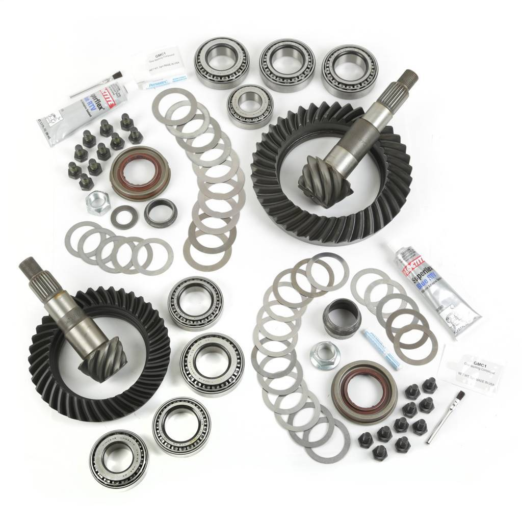 VMN's nitro regearing kit includes absolutely everything you need to change the front and rear diff ratios of your 4WD.
