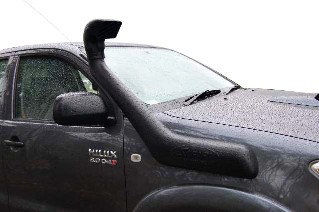 VMN recommends purchasing a standard safari snorkel as a perfect accessory for your vehicle.