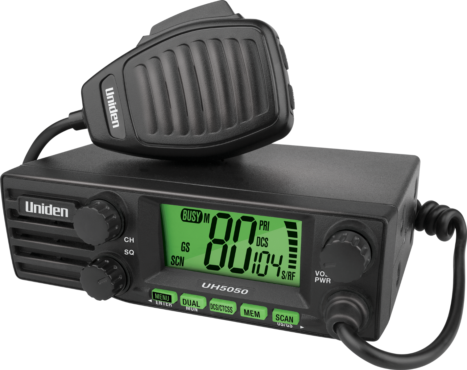 MN also offers a limited selection of UHF (ultra-high-frequency) DIN sized radios