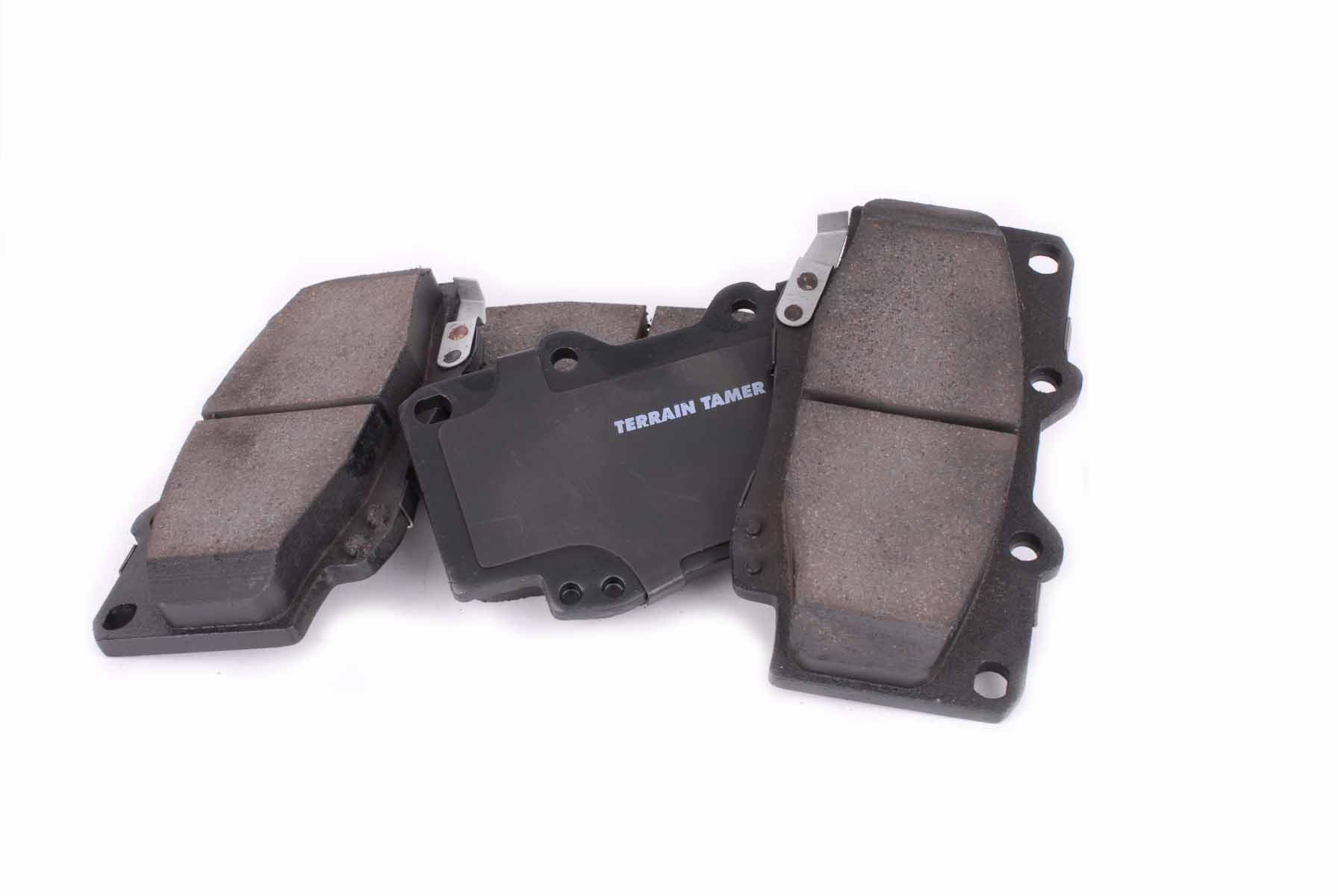 V Terrain Tamer Heavy duty ceramic brake pads for an economical solution for stopping your vehicle.