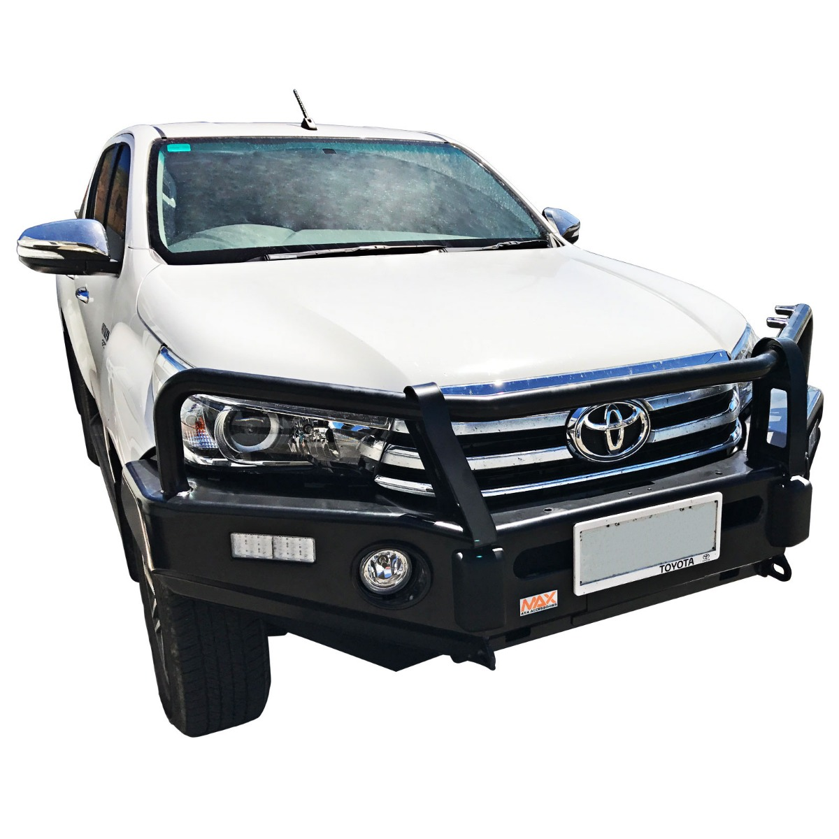 VMN offers bull-bars and manufactured to comply with AS 4876.1-2002