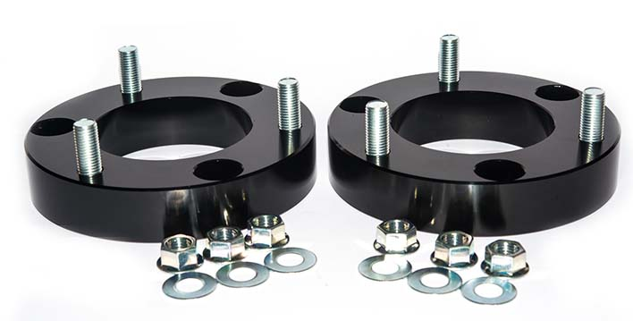 A coil spacer can lift your vehicle up to 35mm.