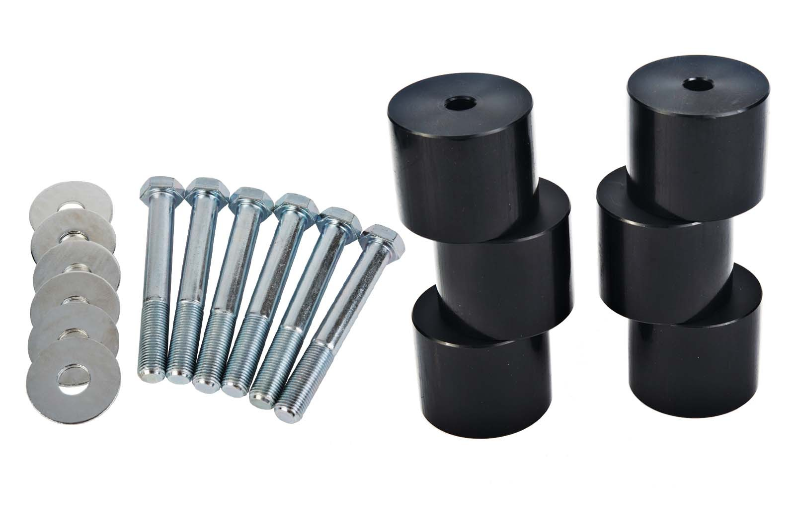 VMN also provides tub override spacers to support the tub after the body lift.