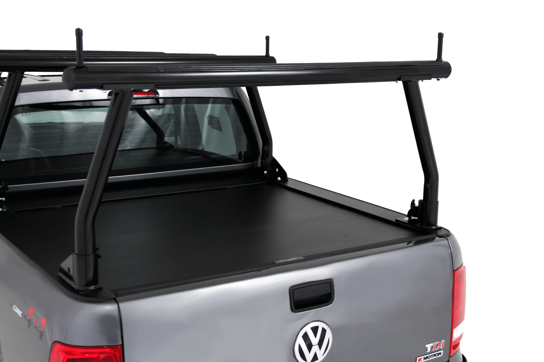 VMN also offers EGR side rails or Yakima Lockn'Load to compliment your UTE hard lid and increase your rack's carrying capacity.