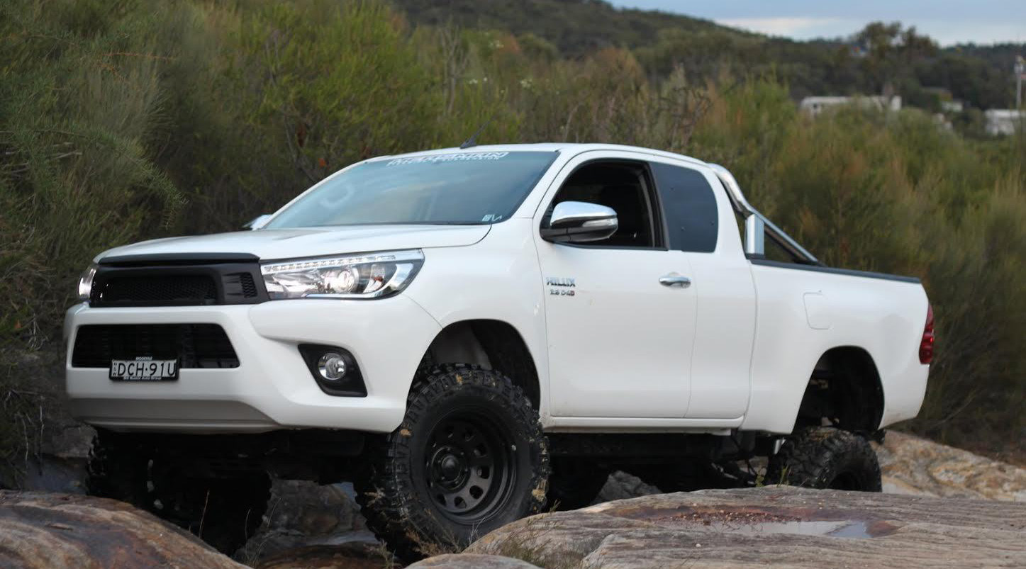 Why Fit a Body Lift To Your Hilux